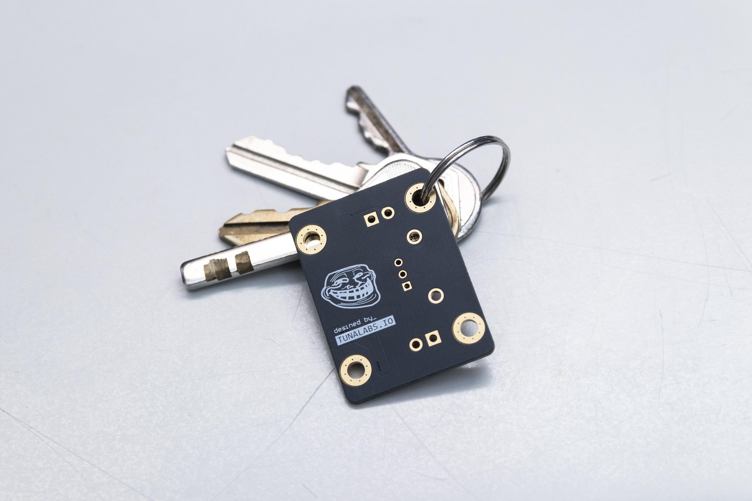 잉여 PCB 열쇠고리